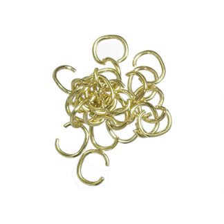 Jump Ring Brass Plated